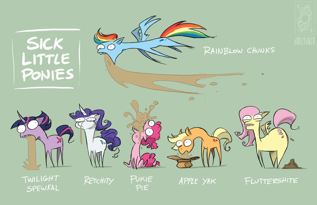 Sick Little Ponies