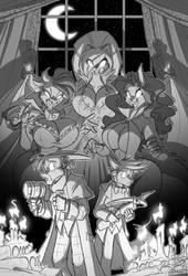 Vampire Hunters by jollyjack