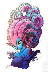 Tentacle Hair (Colour)