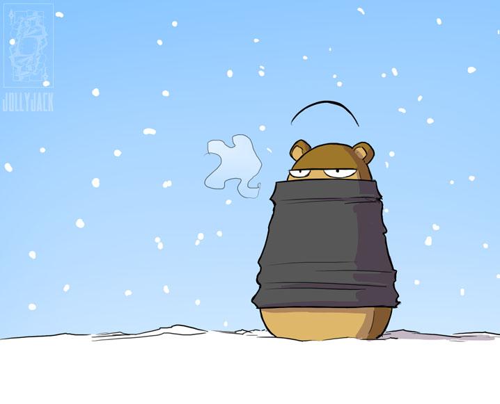 HELGA! Bring me my snood! by jollyjack