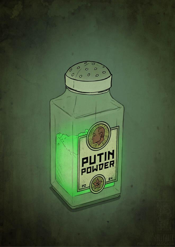 Putin Powder by jollyjack
