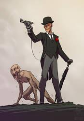 Gentleman Ghoul by jollyjack