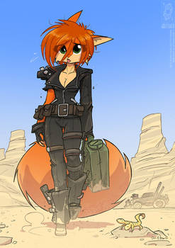 Scarlet - Road Warrior