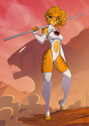 Cheetara Redesign 2021