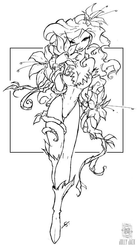 ivy coloring pages - photo#23