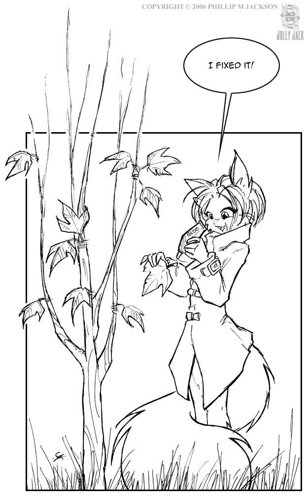 Leaf Glue by jollyjack