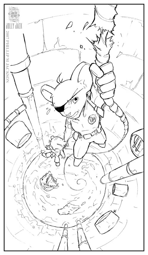 Danger Mouse Coloring Pages Sketch Coloring Page