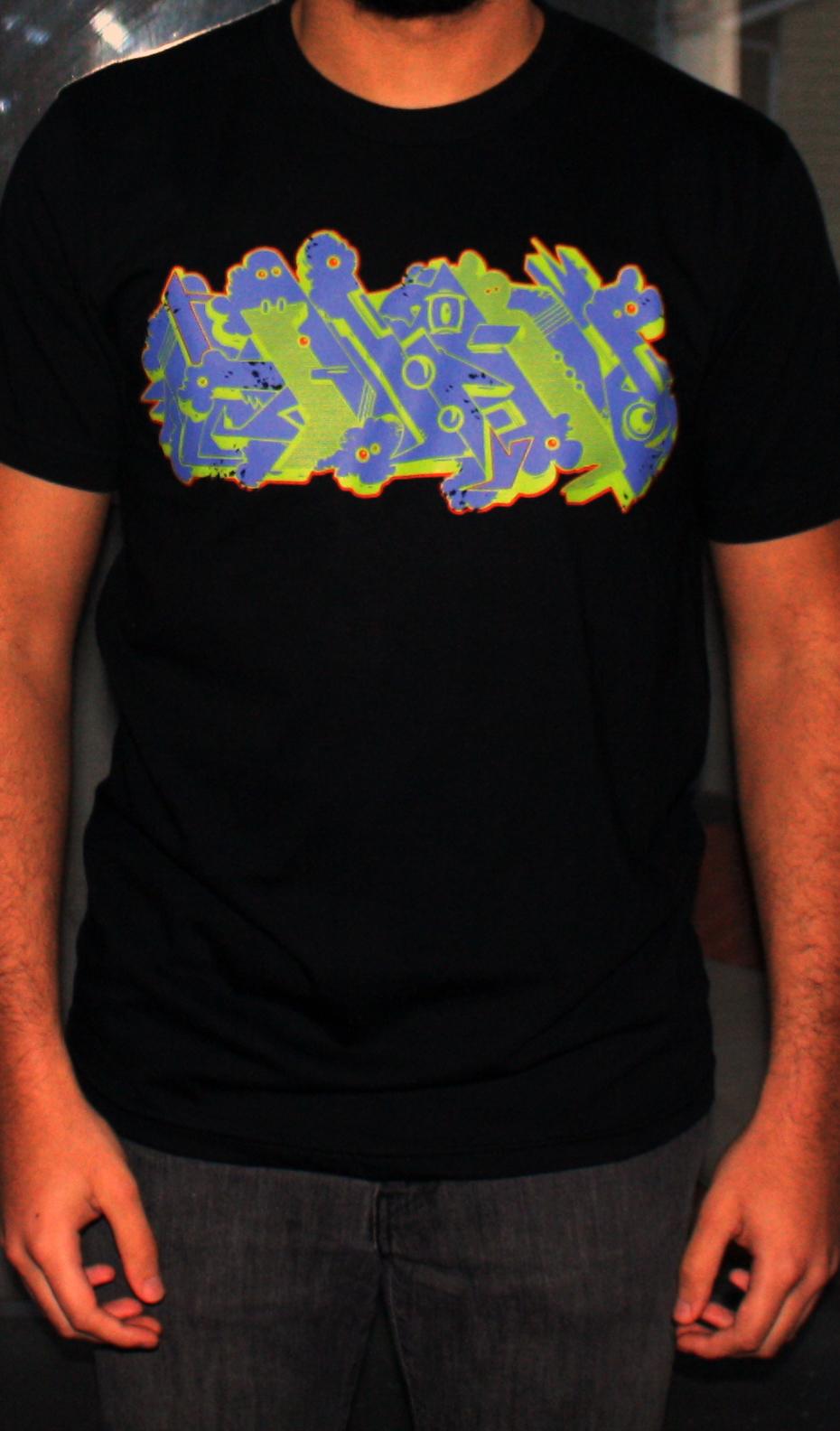 Alien graffiti t shirt by nuskuapperal on deviantart