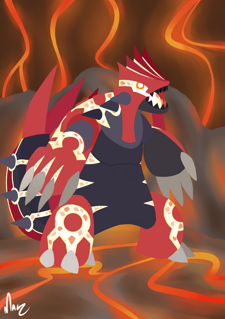 Primal Groudon by Magnum-Redstar