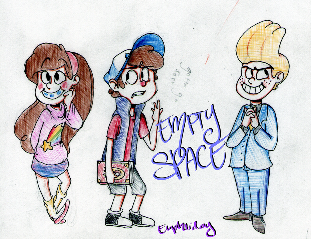 Gravity Falls Doodles by Euphriday