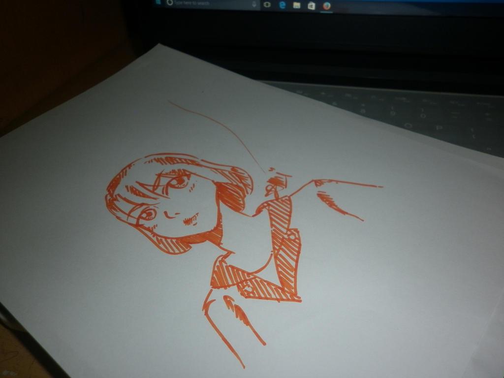 2minute draw by kittenalbin
