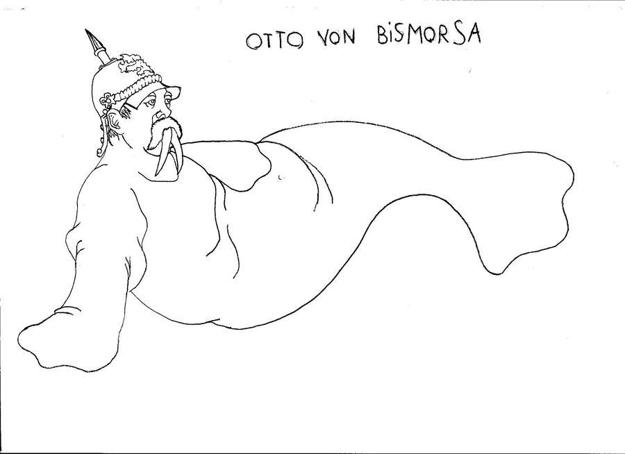 Otto Von Bismarck Drawing Welp