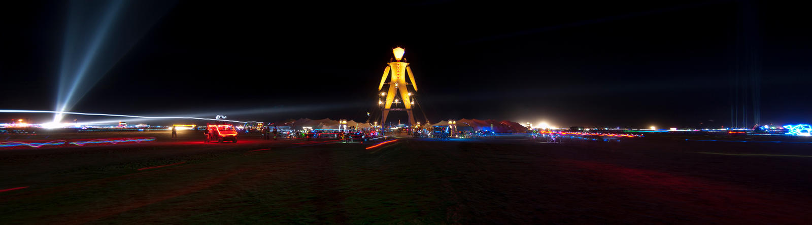 Burning Man 2014 Panorama by Eesu