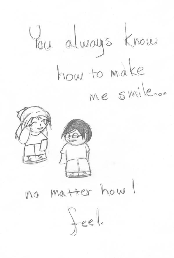 You Can Always Make Me Smile by wistful-moon on DeviantArt