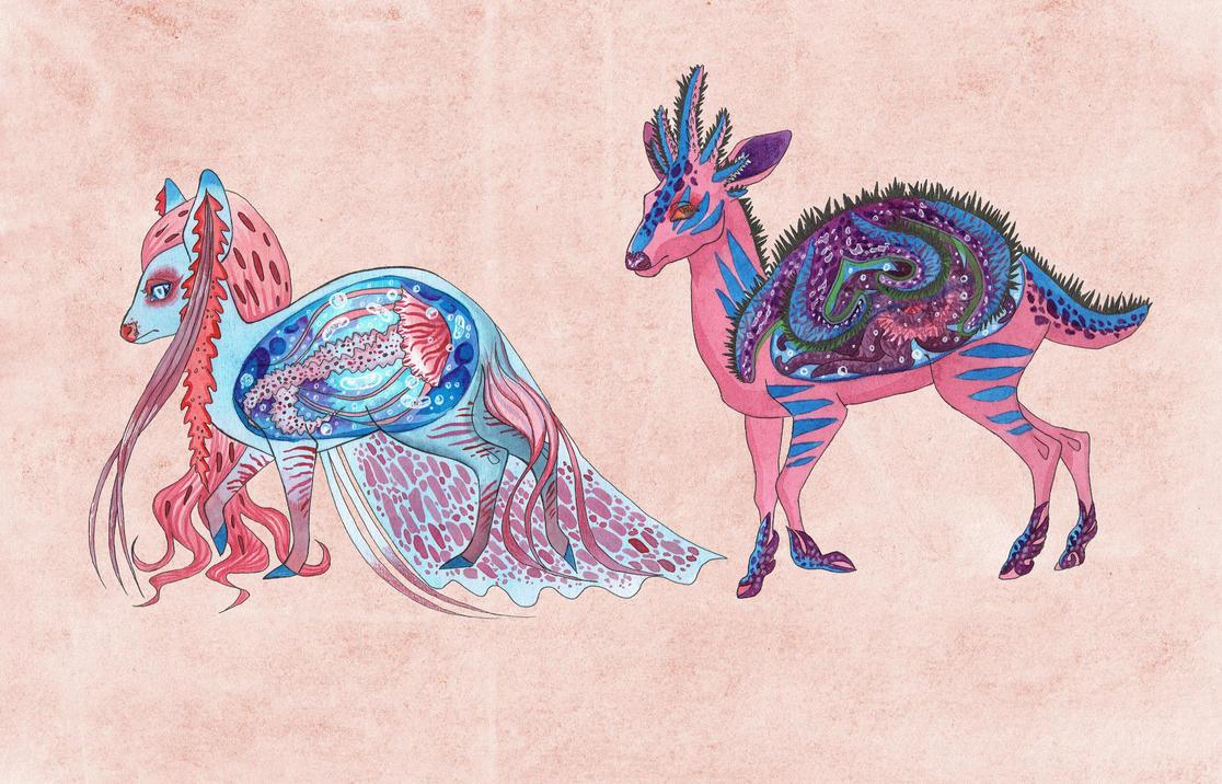 Aqualopes/Second couple by Aotar