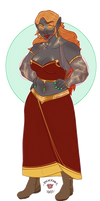 Hulda, Ildjo Trickster Cleric
