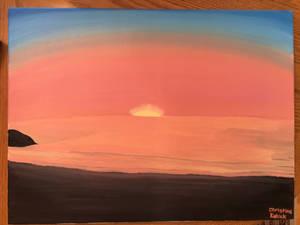 Sunrise at Fort Monroe