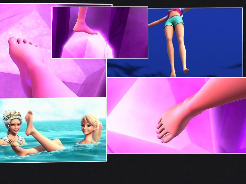 Merliah summer s bare feet by time blur on deviantart