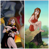 Jane's Porters Outfits from Disney's Tarzan by Time-Blur