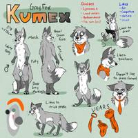 Kumex Character Ref by DexFenik