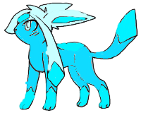 Glaceon finished by TheonlyToxicKitty