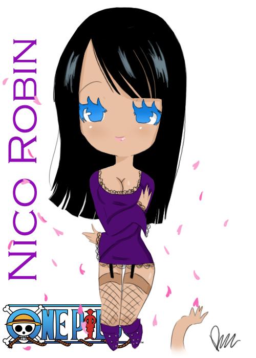 Nico Robin by StarValerian