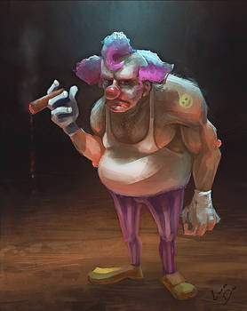 where's the fun? Clown.
