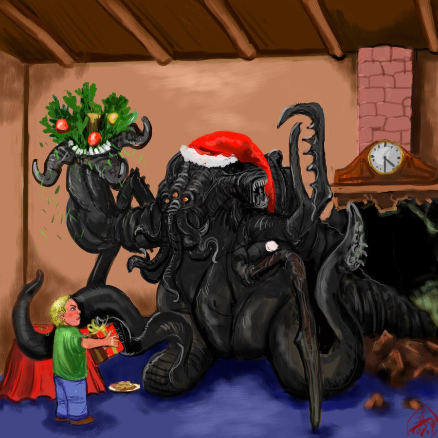 Cthulhu and Halloween: The Lovecraftian Nightmare before Christmas