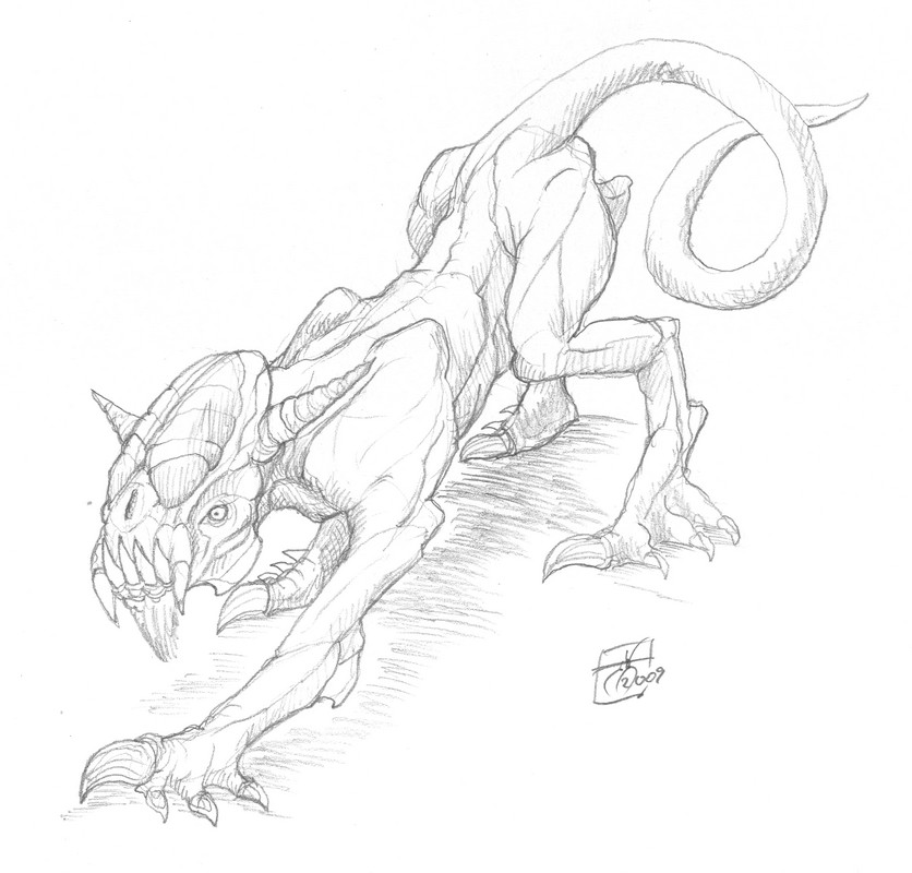 DSG 1507: Creature • ALIEN PREDATOR SHARES SIMILARITIES W/ EARTH'S BLACK PANTHER