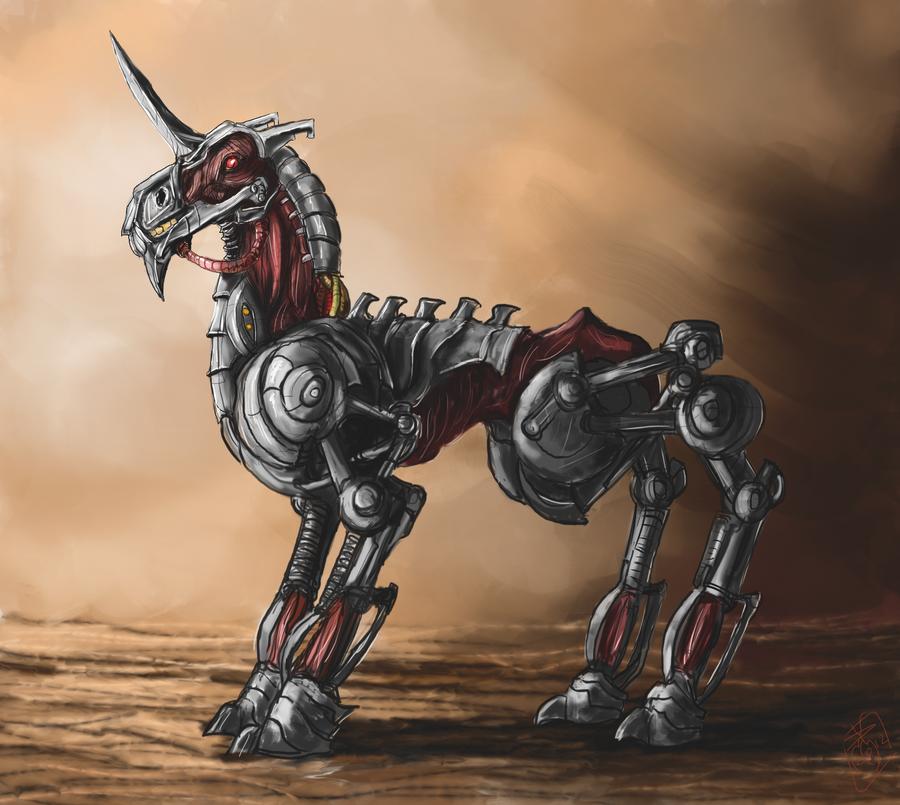 DSG 1641: Sci-Fantasy • THE BIOMECHANICAL UNICORN
