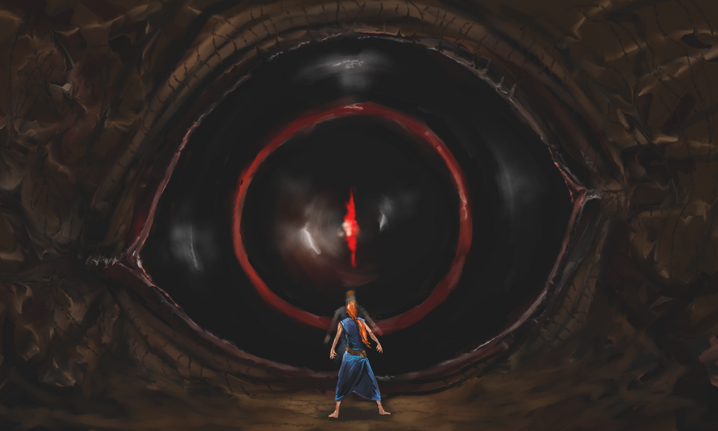 Eye of Evil by Crowsrock