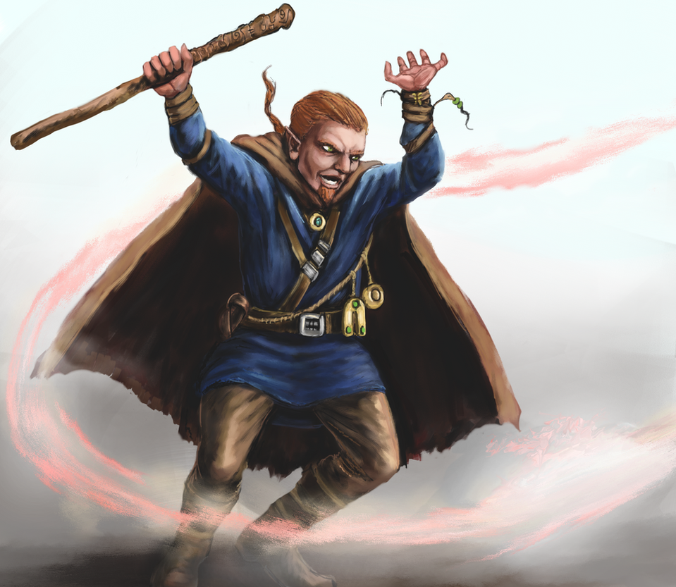 Gnome Sorcerer by Crowsrock