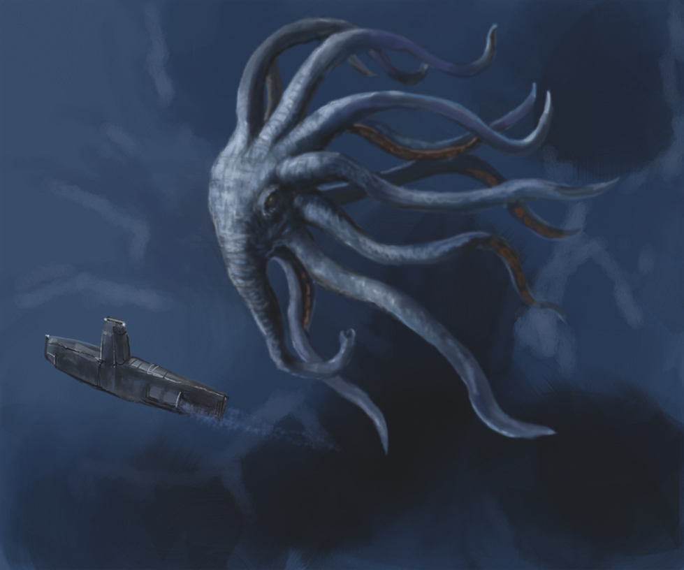 Elephoctopus by Crowsrock