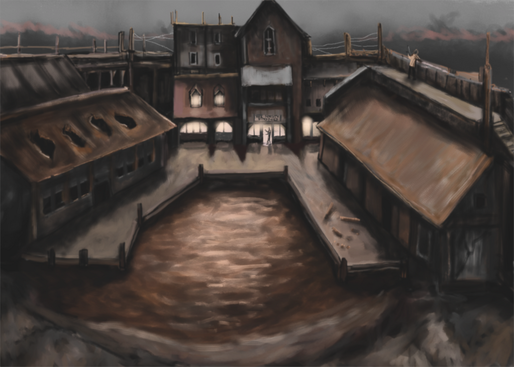 The Rusty Pond by Crowsrock