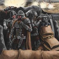 Veteran Imperial Guard by Crowsrock