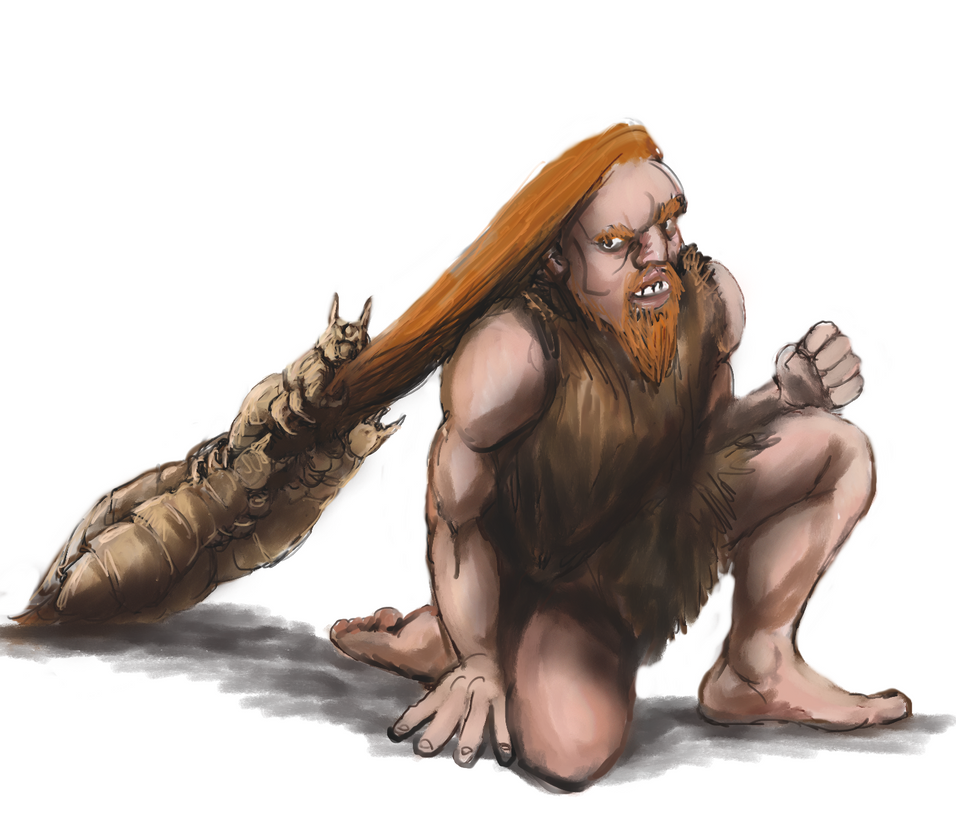Sketch - Too big parasite by Crowsrock