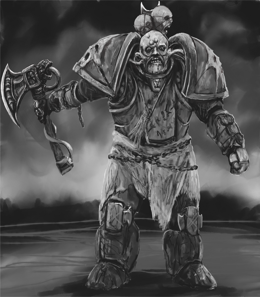 Plague Marine by Crowsrock