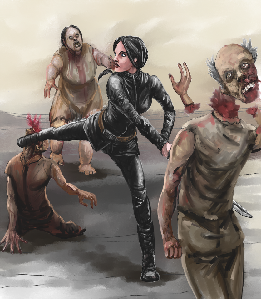 Zombie Fight by Crowsrock
