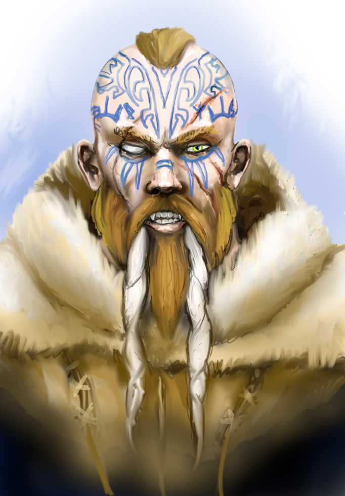 Barbarian from the Ice Wastes by Crowsrock