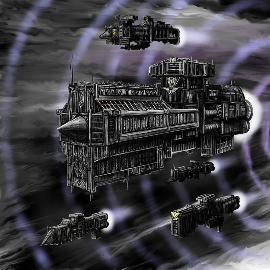 War Fleet by Crowsrock