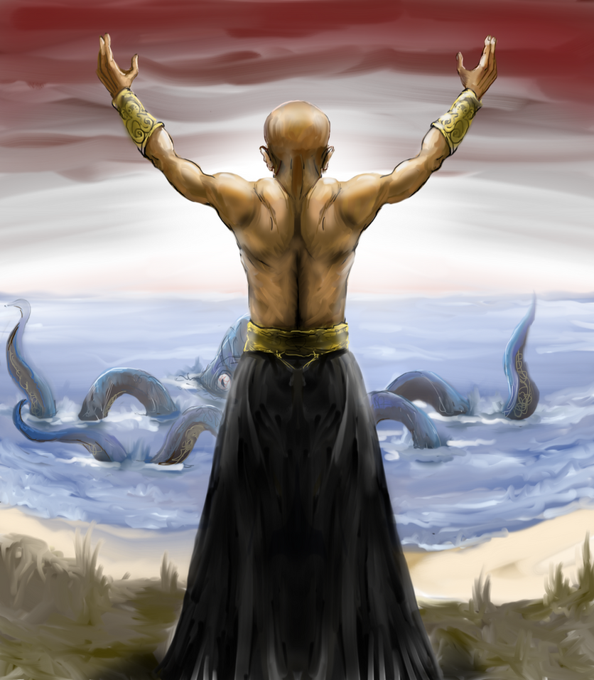 Summoning the Kraken by Crowsrock