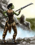 Orc Girl by Crowsrock
