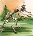 Weird Insectoid Alien