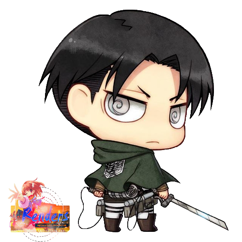 Levi Chibi 2 by... Attack On Titan Chibi Special
