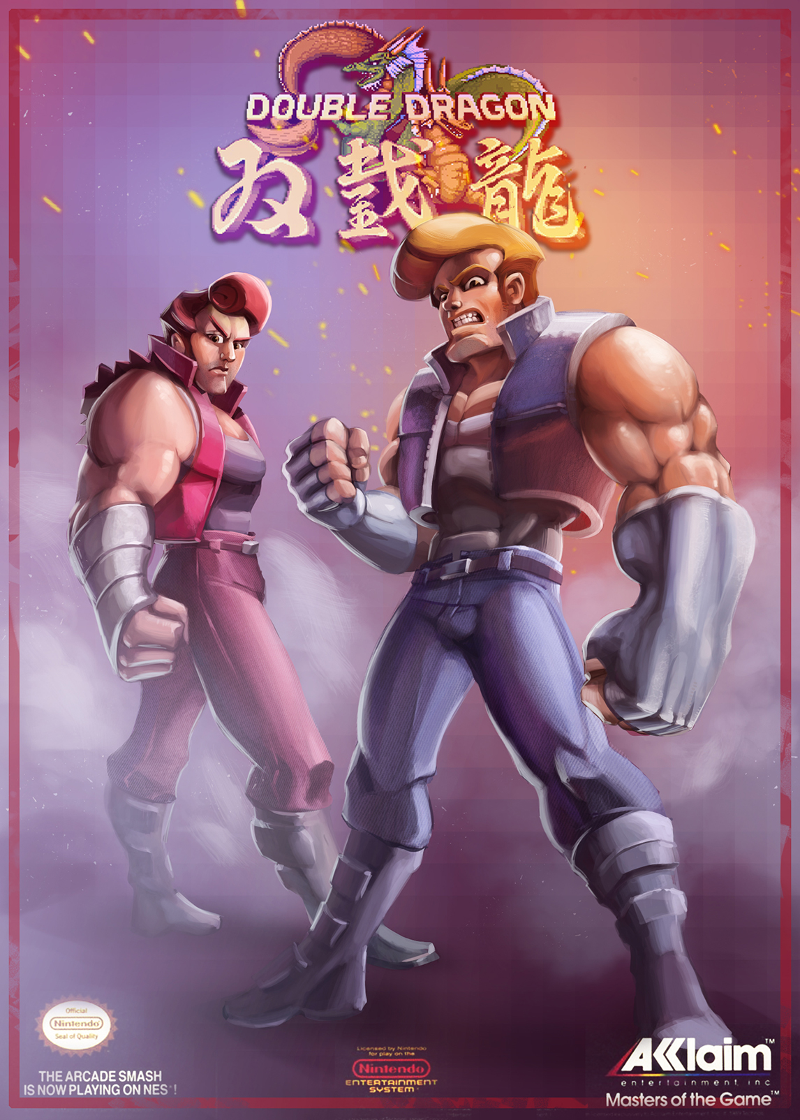 double dragon movie characters