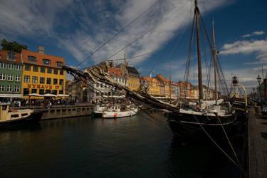 Harbour in Copenhagen by dominik86