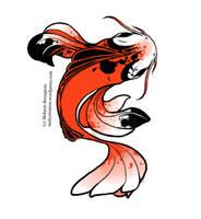 Koi fish by Freiheit