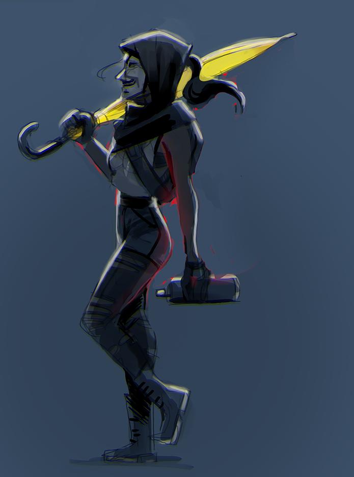masked vigilante by Freiheit