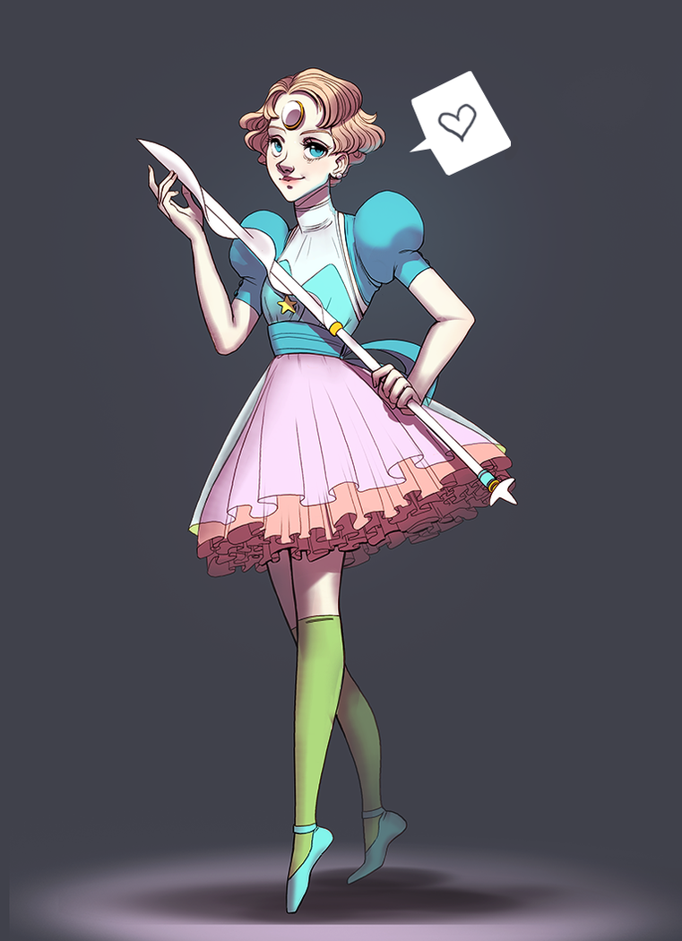 magical girl Pearl by Freiheit