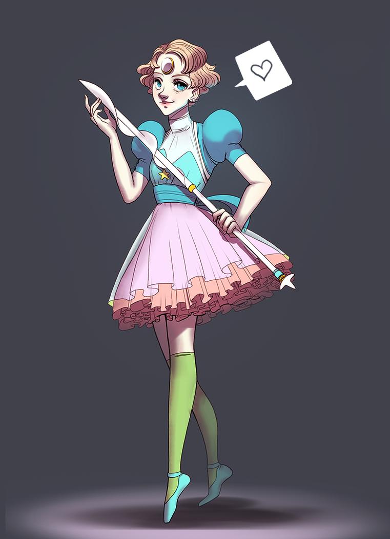 magical girl Pearl by Freiheit
